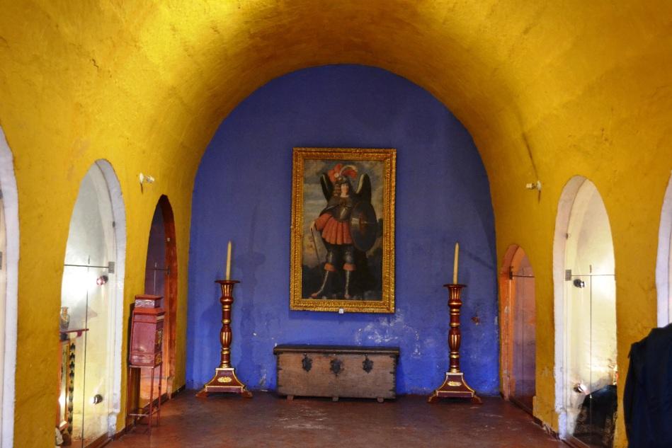 Uno de las muchas areas del monasterio