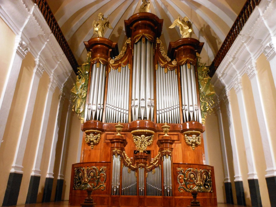 El órgano de la catedral