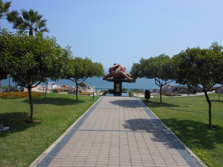 El parque del amor en Miraflores