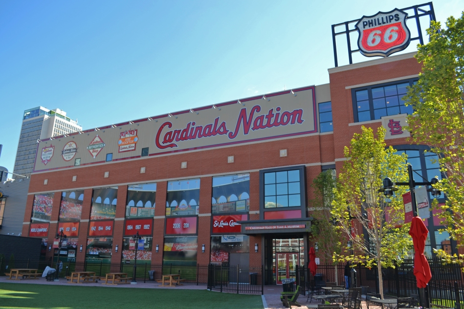 El Cardinals Nation en Ballpark Village