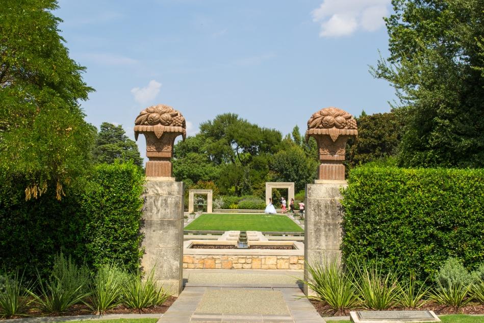 Los jardines en el Arboretum