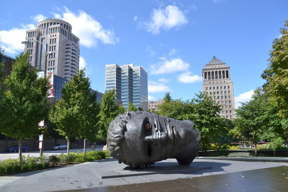 Esta escultura llamada Eros Bendato del polaco Igor Mitoraj fue una de mis esculturas favoritas