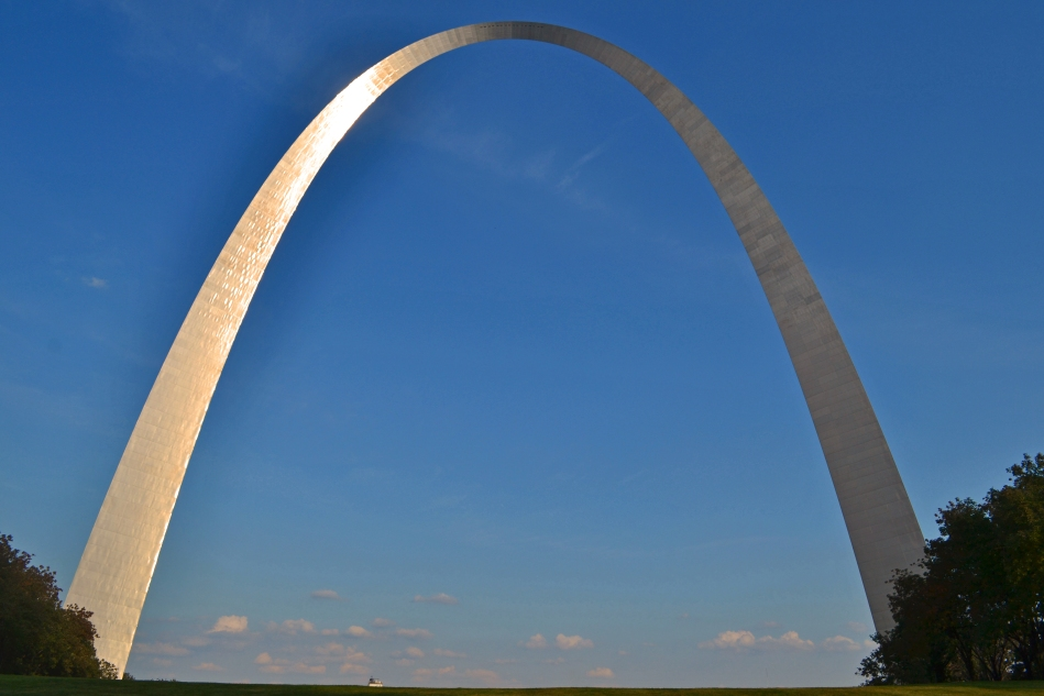 Al arco desde otro ángulo