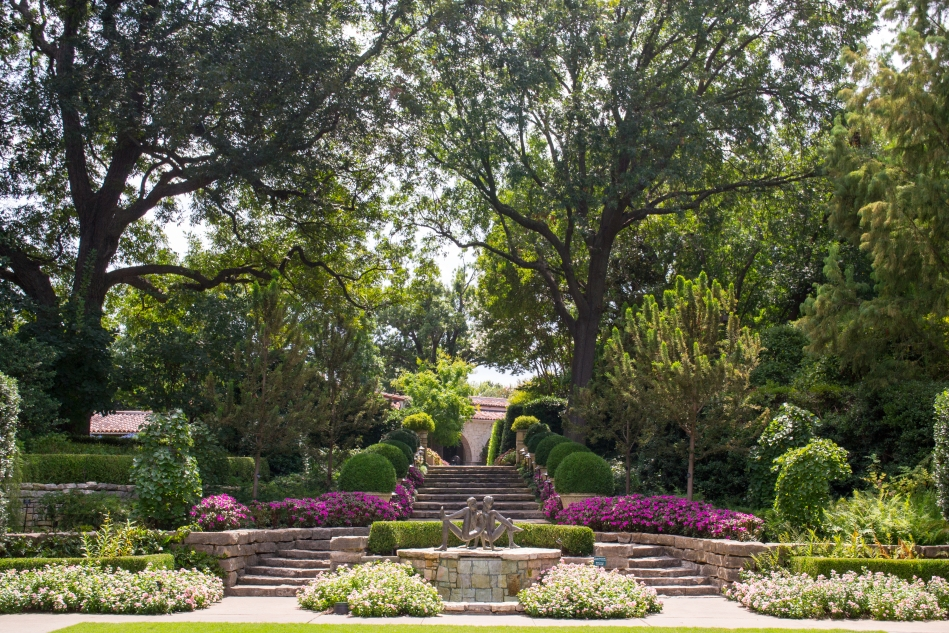 McCasland Sunken Garden