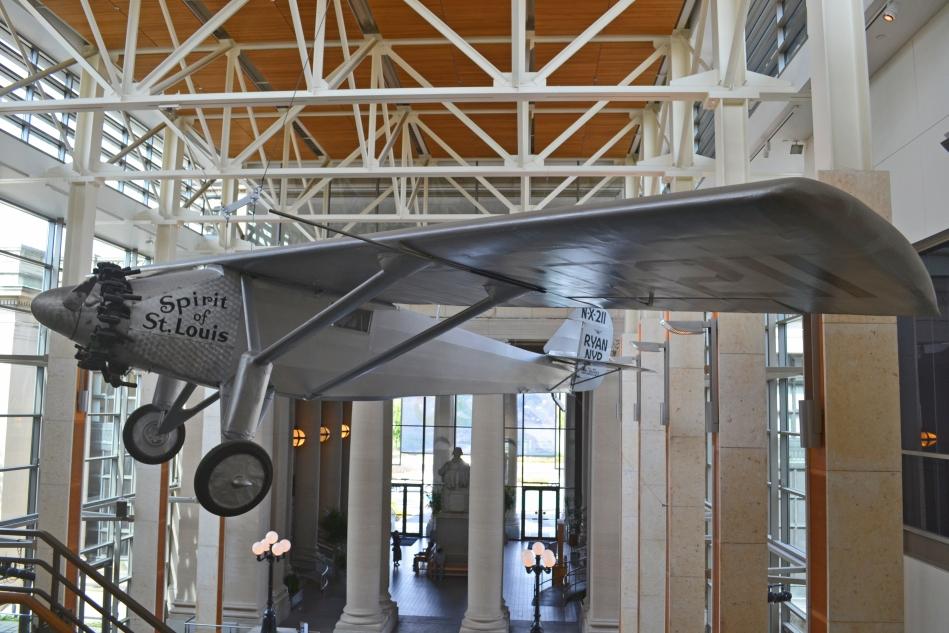 Réplica del avión Spirit of St Louis