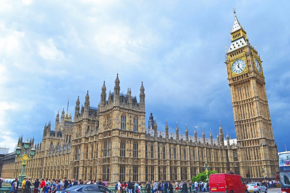 El Parlamento Inglés y el Big Ben