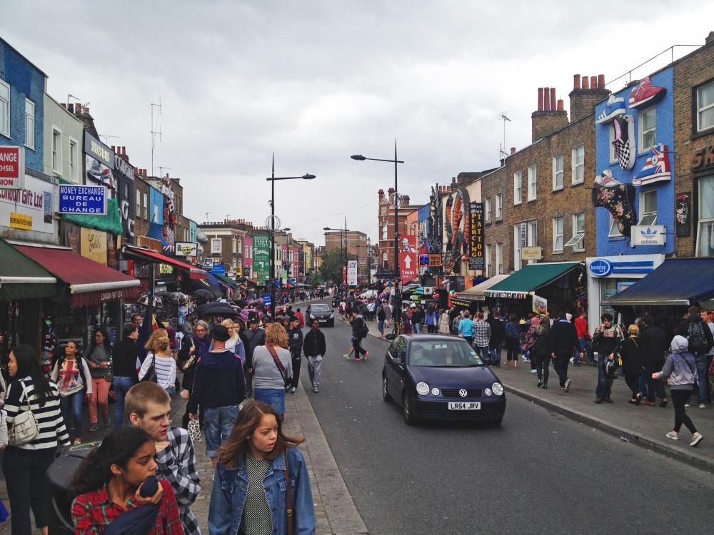 Calle principal de Camden Town