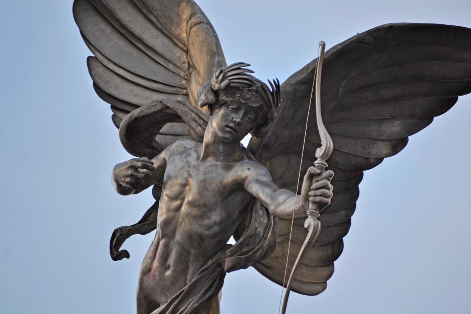 El dios griego Eros