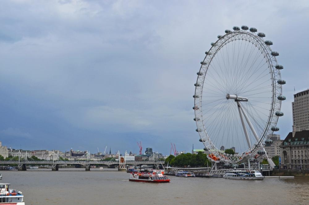 El Río Támesis y el London Eye