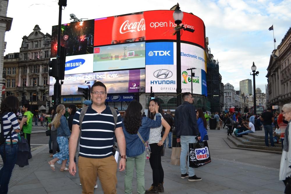 Los letreros iluminados de Piccadilly Circus