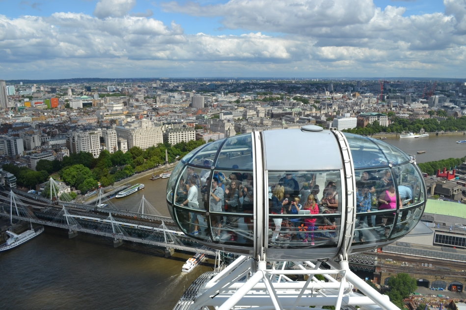 Desde el tope del London Eye