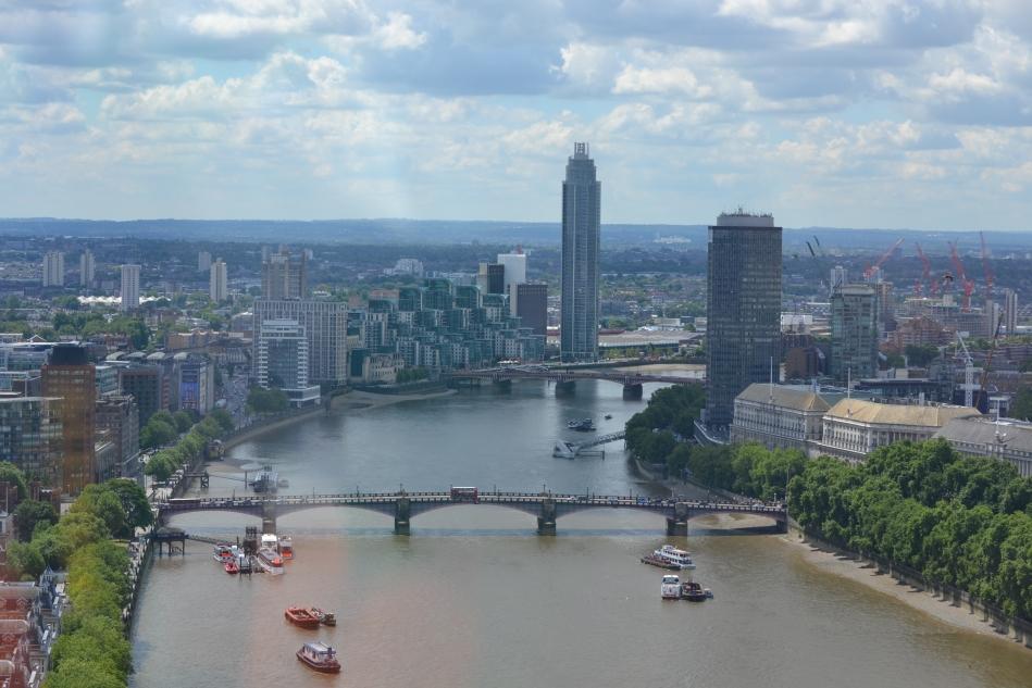 El Río Támesis y la ciudad