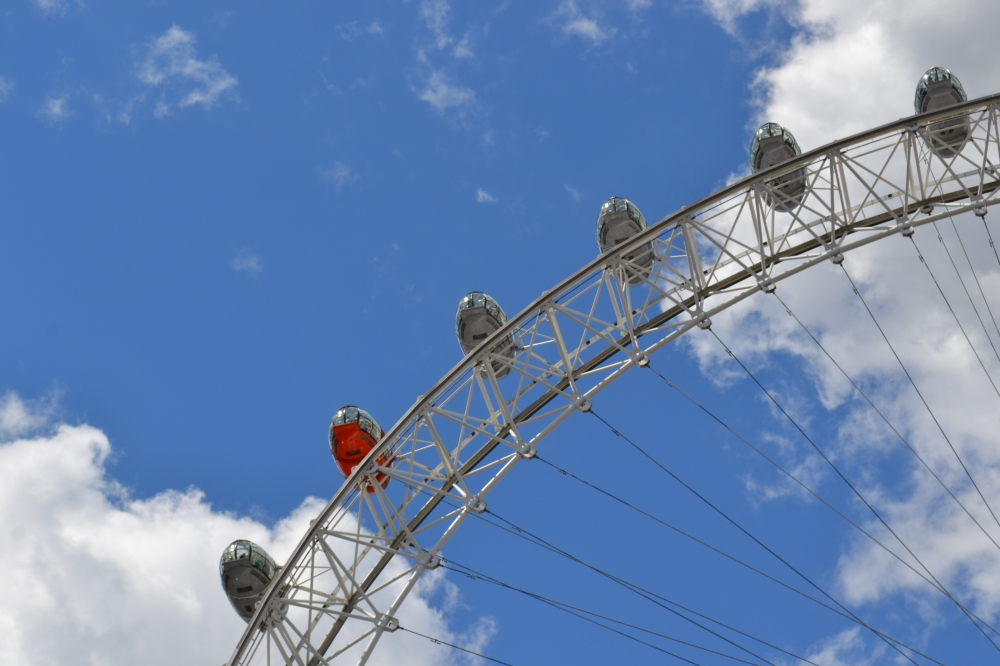 Las cápsulas del London Eye