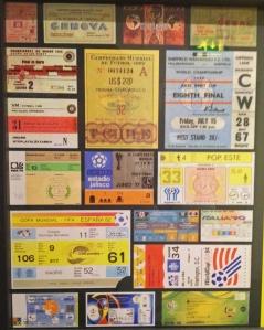 Boletos del Mundial