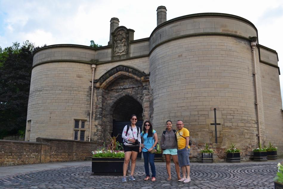 Entrada al Castillo de Nottingham
