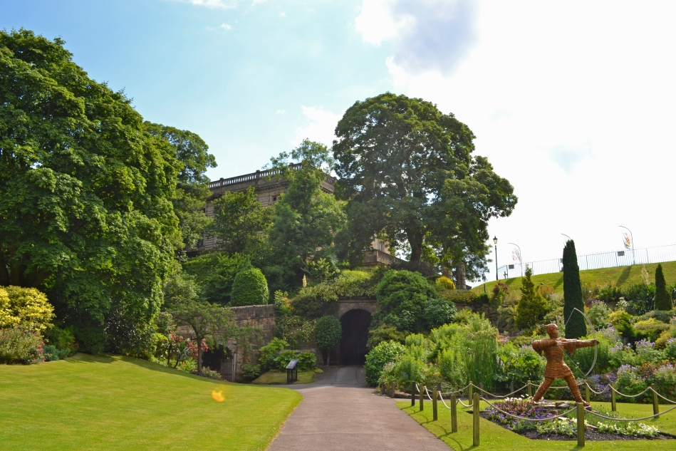 Los jardines del Castillo