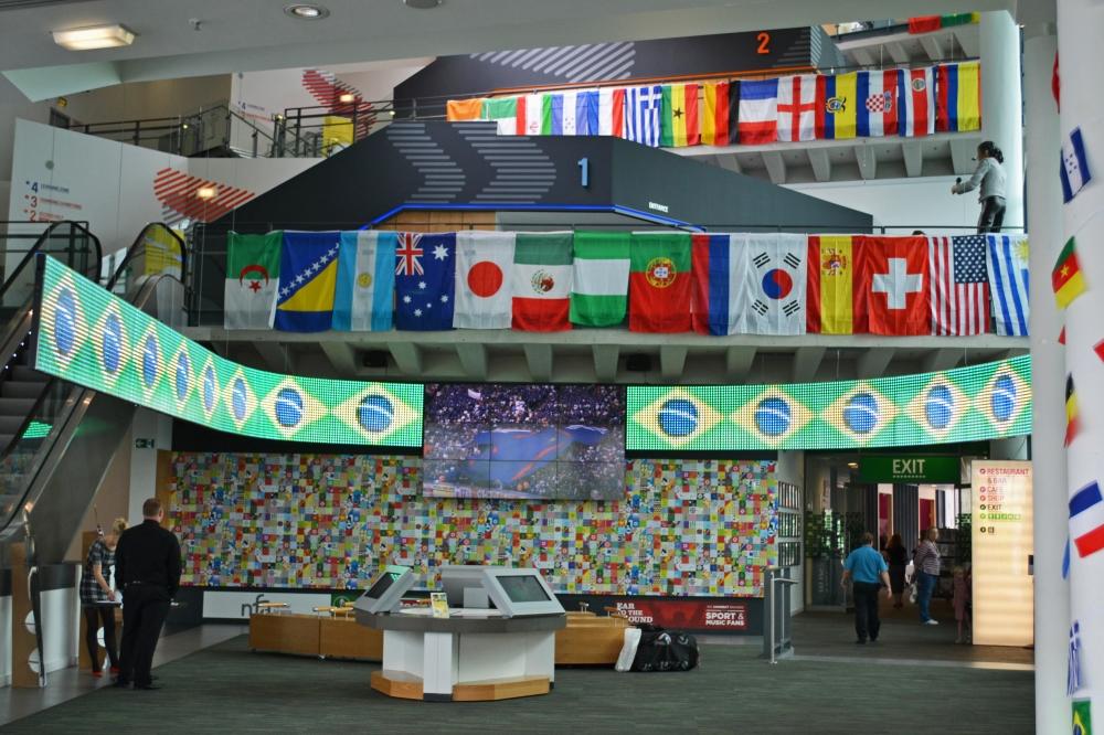 Museo Nacional del Fútbol Interior