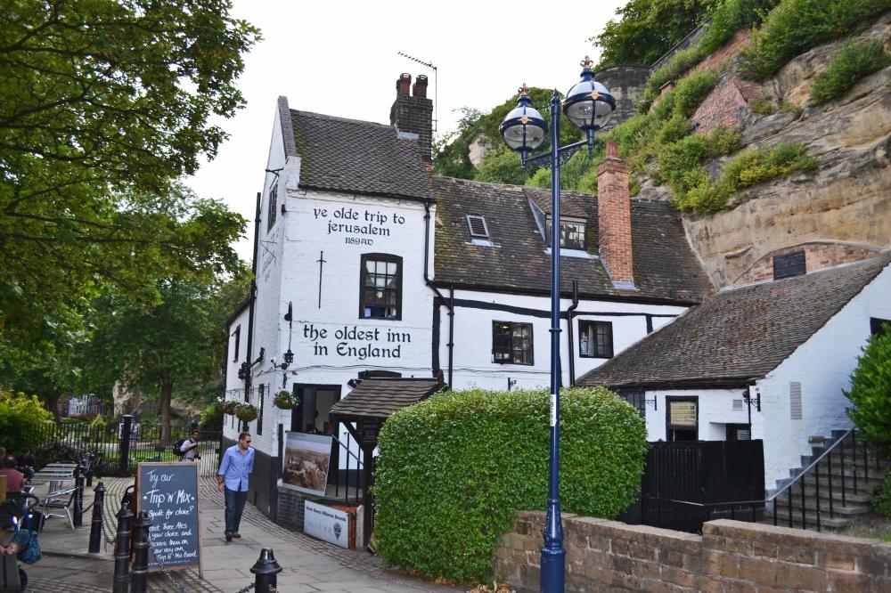 Este es uno de los pubs mas antiguos de Inglaterra