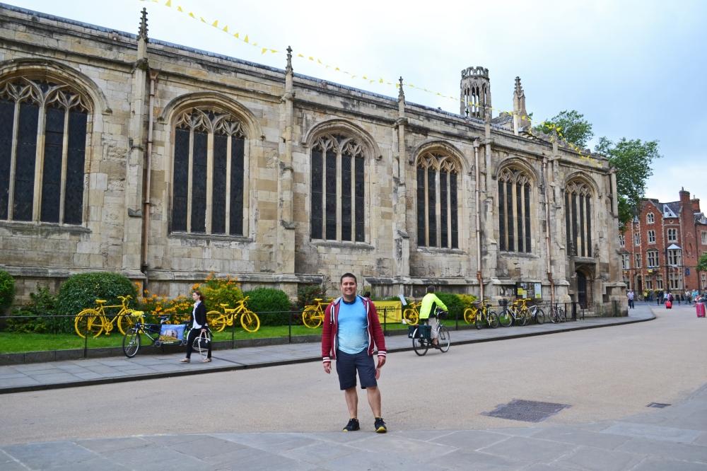 Yellow Bikes York Minster