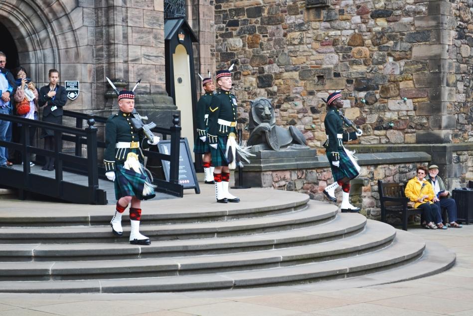 Cambio de Guardia Escocia
