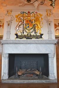 Chimenea en el Palacio Real