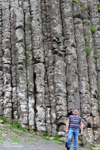 Columnas en Giant's Causeway