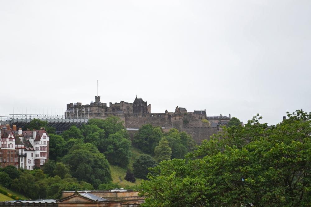 El Castillo desde el Monuento a Scott