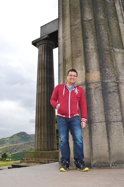 En el Monumento Nacional