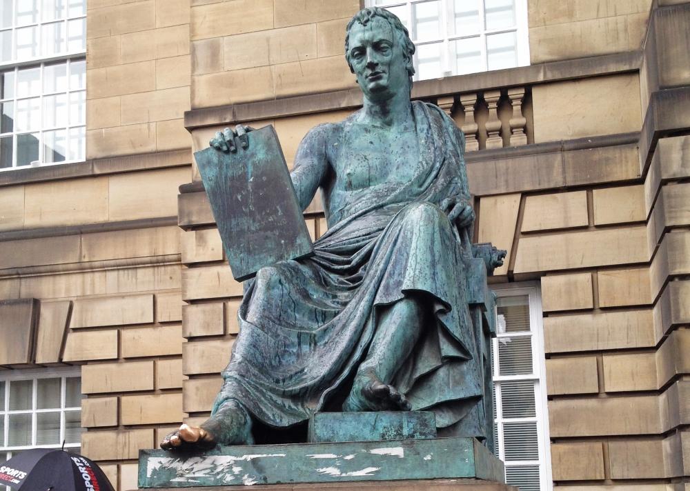 Estatua de David Hume