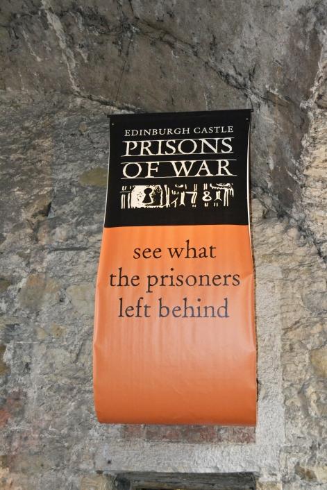 Letrero Prisiones de Guerra