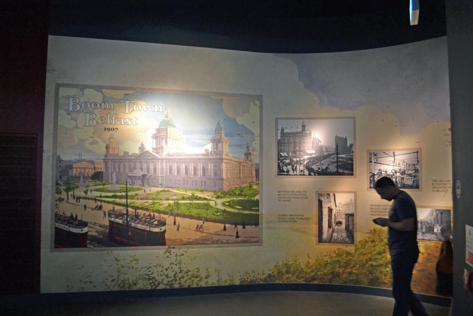 Museo Titanic por dentro