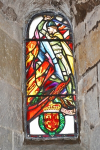 Vitral en la Capilla St Margaret
